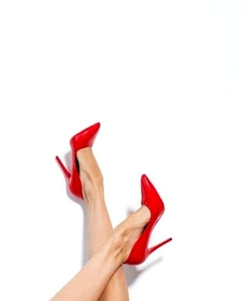 Putting on stilettoes to gain self-confidence